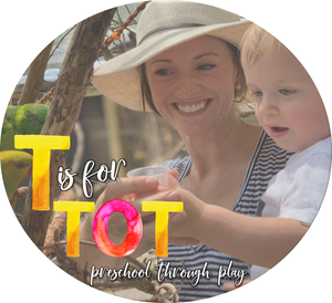 T is for Tot, a toddler & preschool curriculum geared towards making learning fun and perfect to get your child ready for kindergarten.