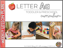 Load image into Gallery viewer, Toddler & Preschool Curriculum | Alphabet Letters A-Z  ENTIRE BUNDLE