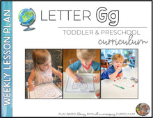 Load image into Gallery viewer, Toddler & Preschool | Letter Gg Curriculum