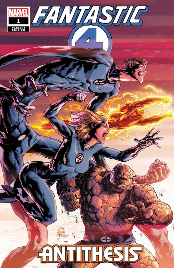 Fantastic Four Antithesis 1 (Of 4) Stegman Var