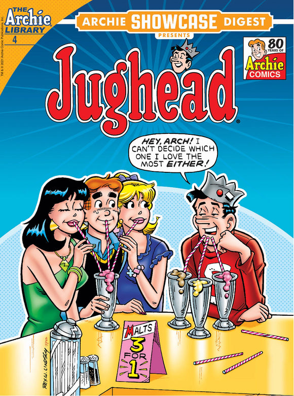 ARCHIE SHOWCASE DIGEST #4 JUGHEAD IN THE FAMILY