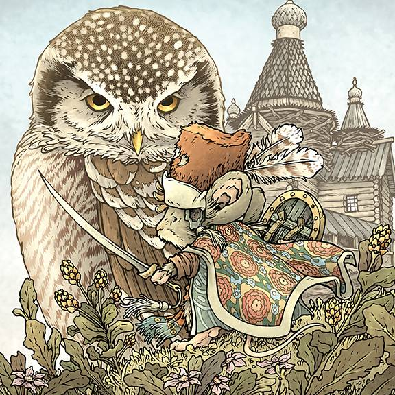 MOUSE GUARD OWLHEN CAREGIVER #1