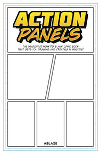 ACTION PANELS INNOVATIVE HOW TO BLANK COMIC BOOK JOURNAL (C: 0-1-1)