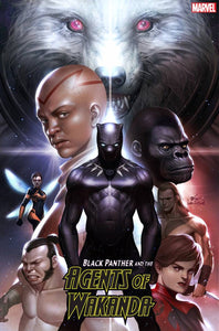 Black Panther And Agents Of Wakanda 1 Inhyuk Lee