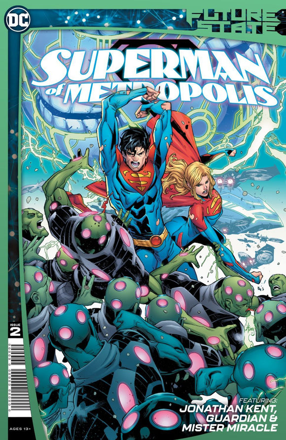 FUTURE STATE: SUPERMAN OF METROPOLIS #2
