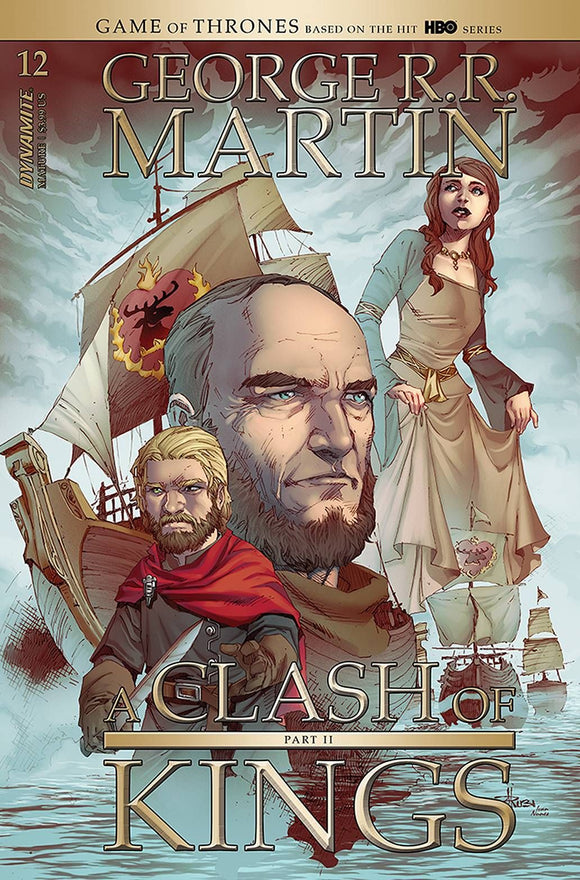 GEORGE RR MARTIN A CLASH OF KINGS #12 CVR B RUBI (MR)