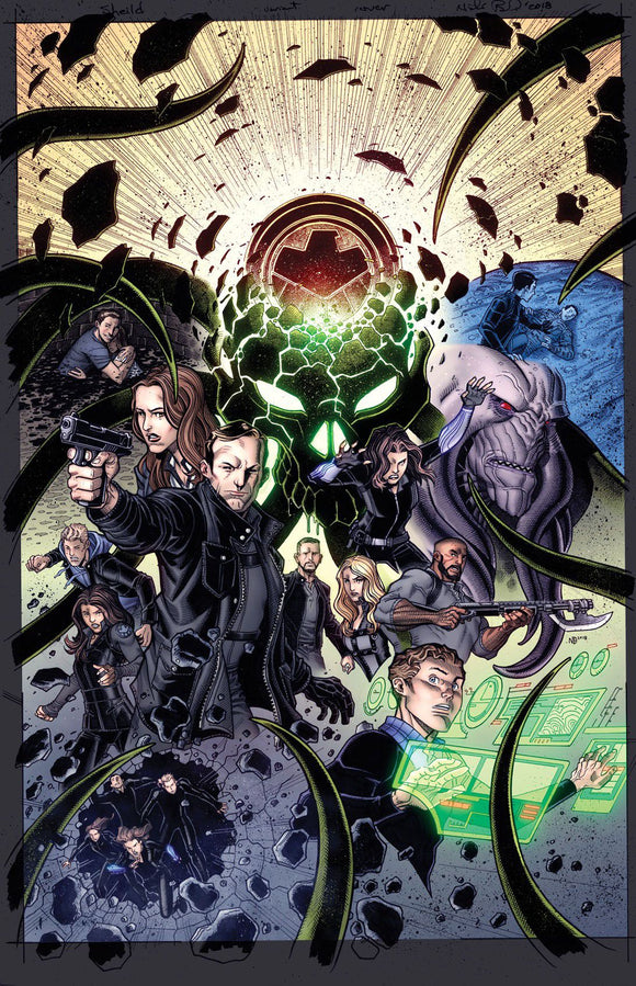 Infinity Countdown 1 (Of 5) Agents Of Shield Road