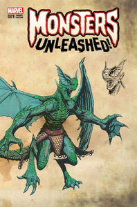 Monsters Unleashed 1 (Of 5) New Monster Var
