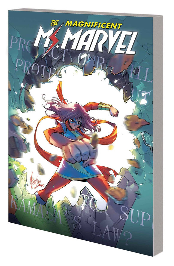 MS MARVEL BY SALADIN AHMED TP VOL 03 OUTLAWED