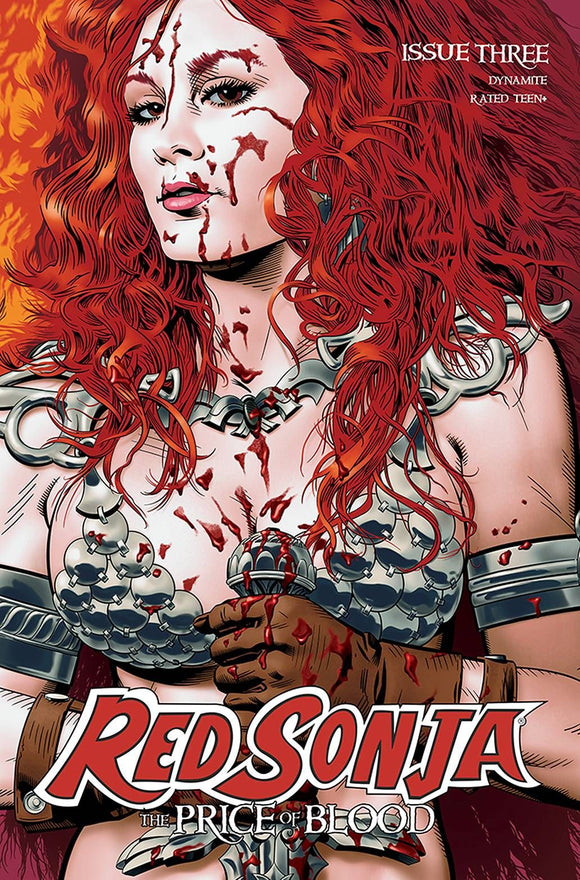 RED SONJA PRICE OF BLOOD #3 CVR B GOLDEN