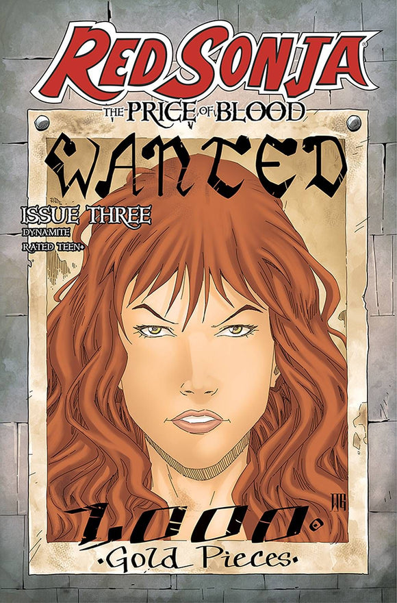 RED SONJA PRICE OF BLOOD #3 CVR D GEOVANI