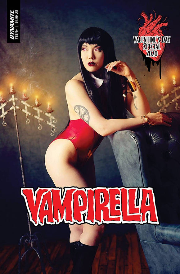 VAMPIRELLA VALENTINES SP ONE SHOT CVR C COSPLAY