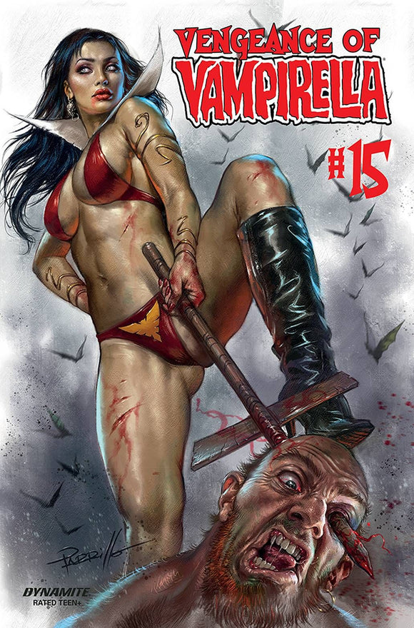 VENGEANCE OF VAMPIRELLA #15 CVR A PARRILLO