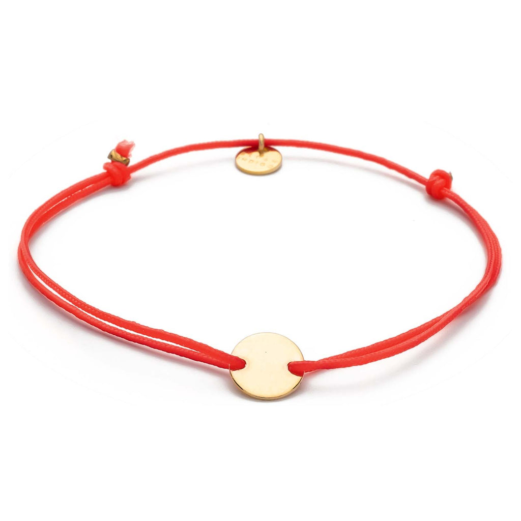 Armband Darling Disc gold – Tomato
