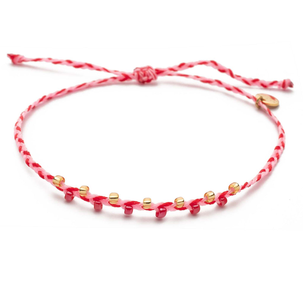 Armband Take a Twist – Red Rose