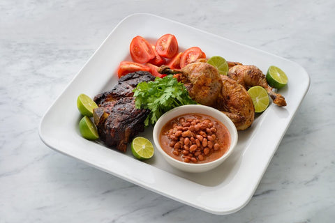 Mixed Grill with FILLO'S Sofrito Beans
