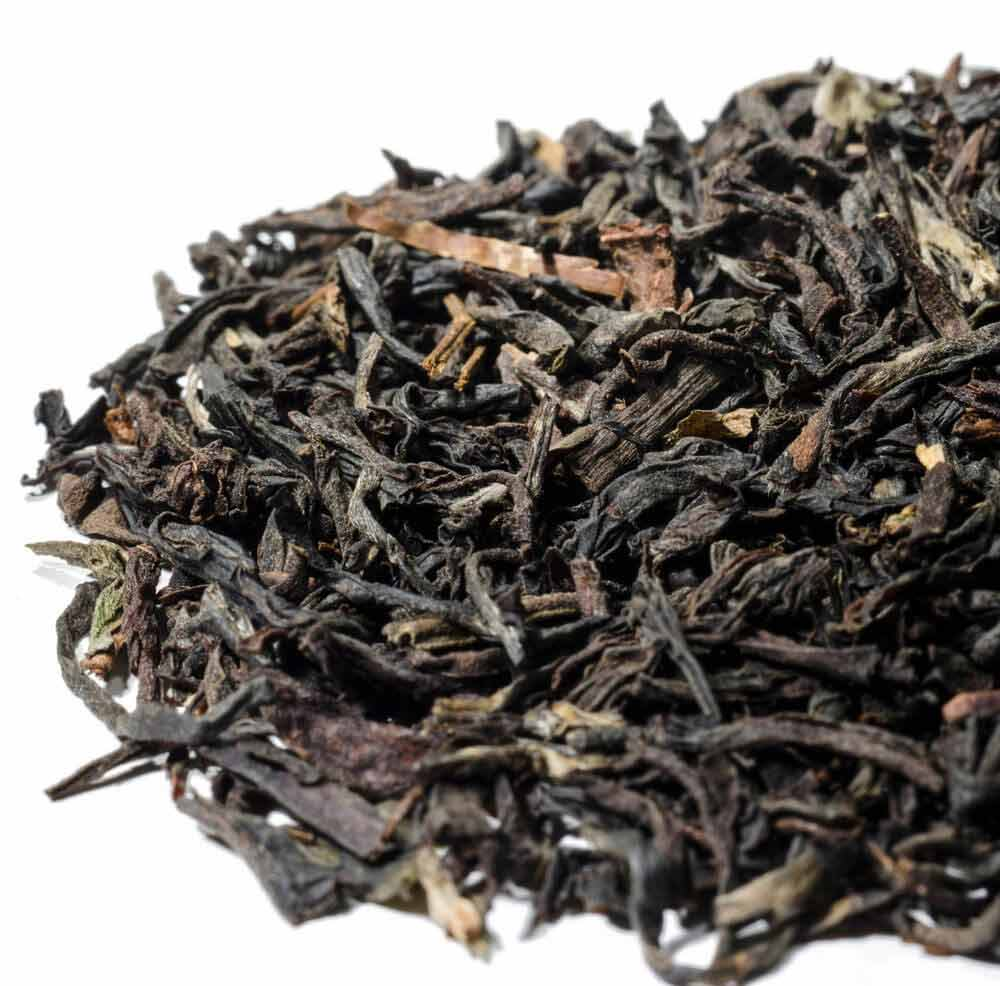 Balham Blend black tea, a blend of high-grade Assam, Ceylon & Darjeeling