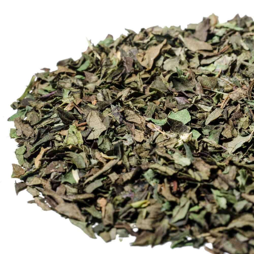 Single estate English Peppermint loose leaf herbal tea, grown and harvested in England