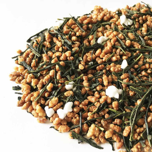 Genmaicha green Tea with Brown Rice Japanese Delicacy