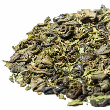 Load image into Gallery viewer, Loose Leaf Tea, a blend of spearmint with rolled green tea