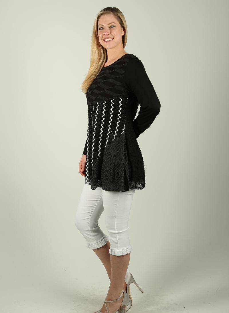 Patchwork Layer Tunic
