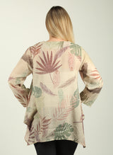 Leaves Print Tunic