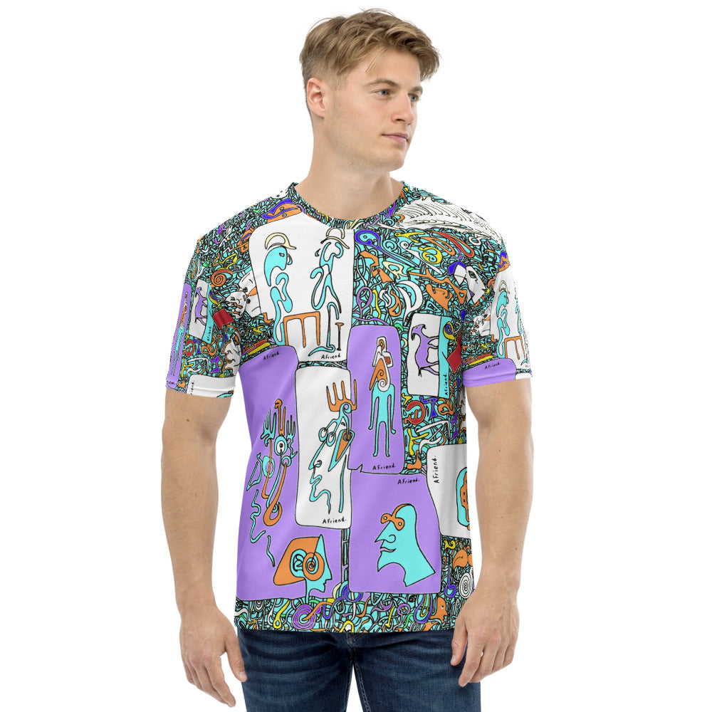 Men's T-shirt Picasso's goat