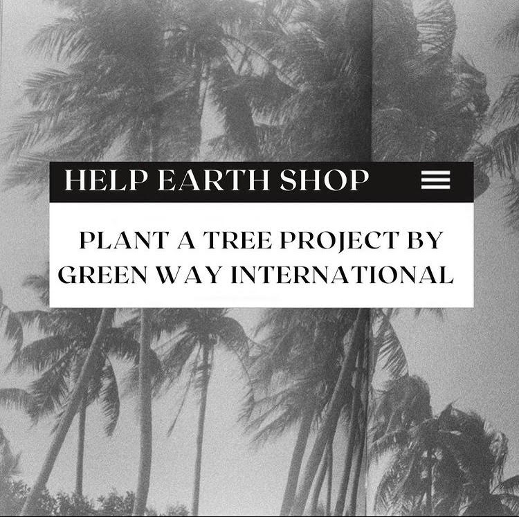 plant a tree project by Greenway International