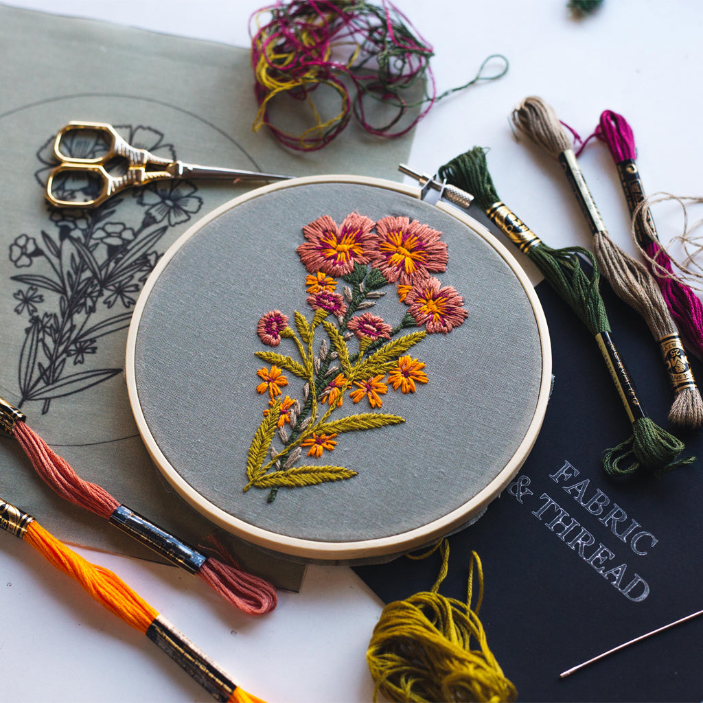 "Hand Embroidery KIT ""Spring Flavors"""