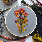 "Load image into Gallery viewer, Hand Embroidery KIT ""Spring Flavors"""
