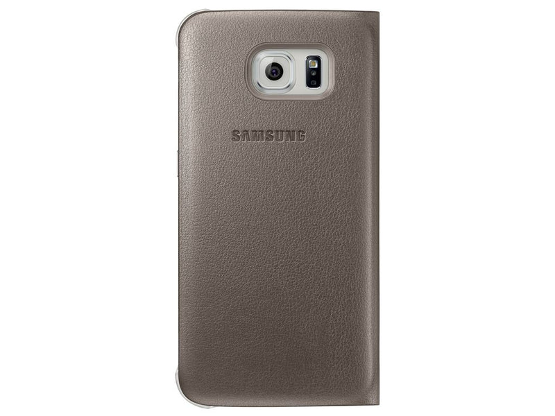 SAMSUNG - S6 S VIEW COVER GOLD EF-CG920PFEGWW