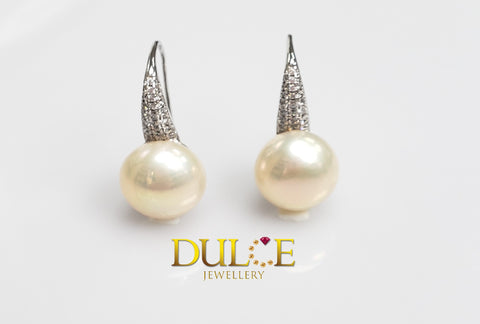 (Silver) Freshwater Pearls Earrings