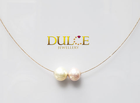 18K Gold Southsea Pearl &  Freshwater Pearl Necklace (Length & pearls can be adjusted)