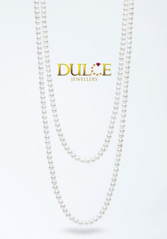 18K Gold Freshwater Pearls Necklace