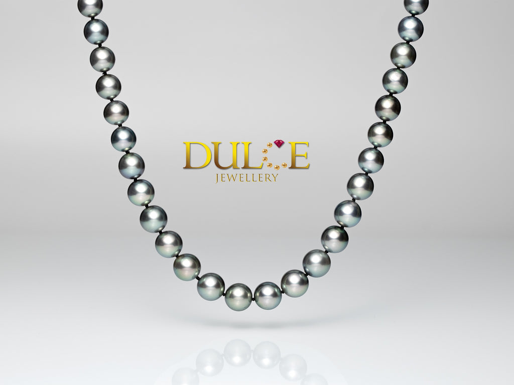 14K Gold Tahitian Pearls Necklace