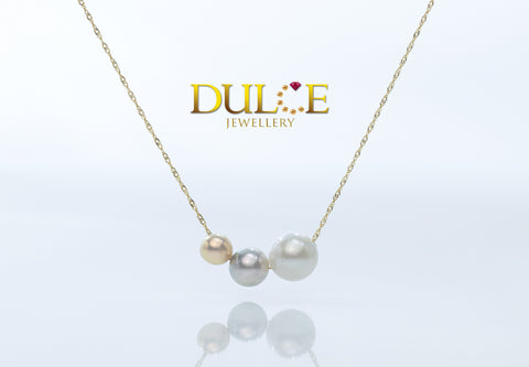18K Gold Freshwater Pearl / Japan Akoya Pearl / Southsea Pearl Necklace