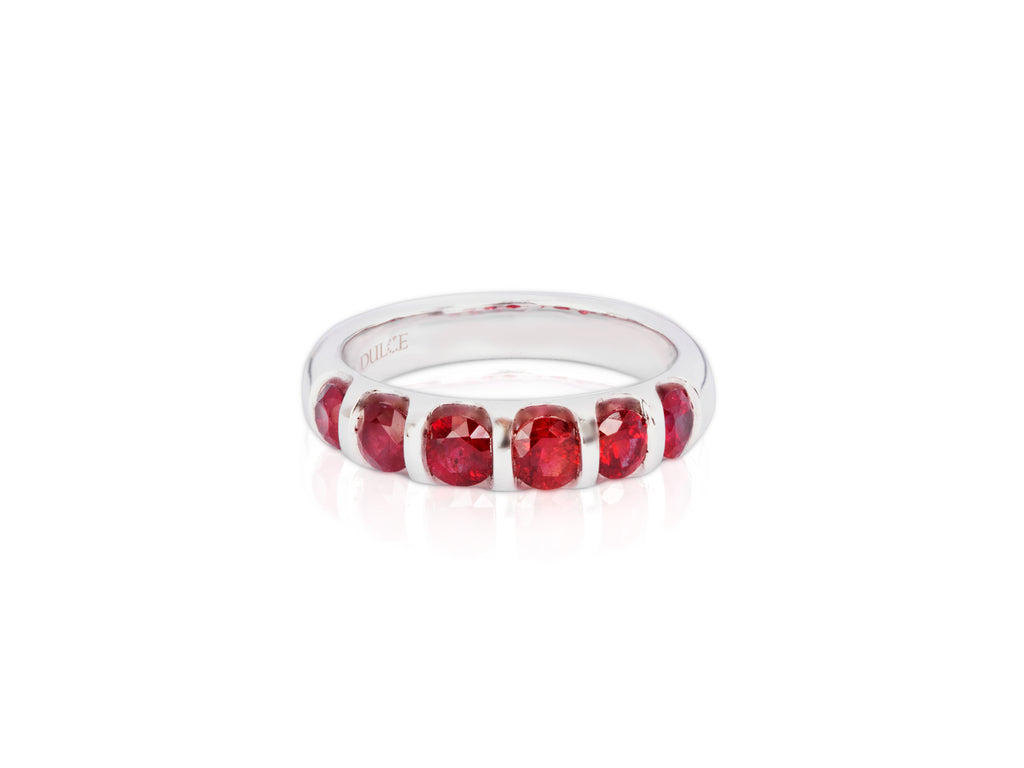 18K Gold Natural Ruby Ring