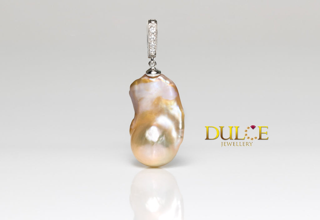 Silver Freshwater Pearl Pendant