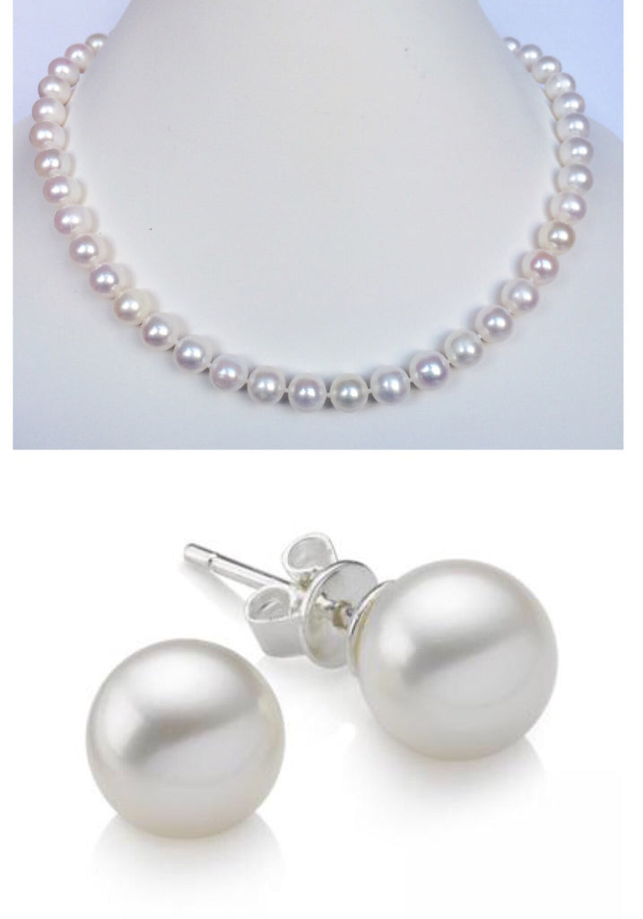 The Simply Pearl Bridal Set
