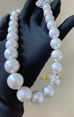 2-15mm Australian Southsea Pearls Necklace