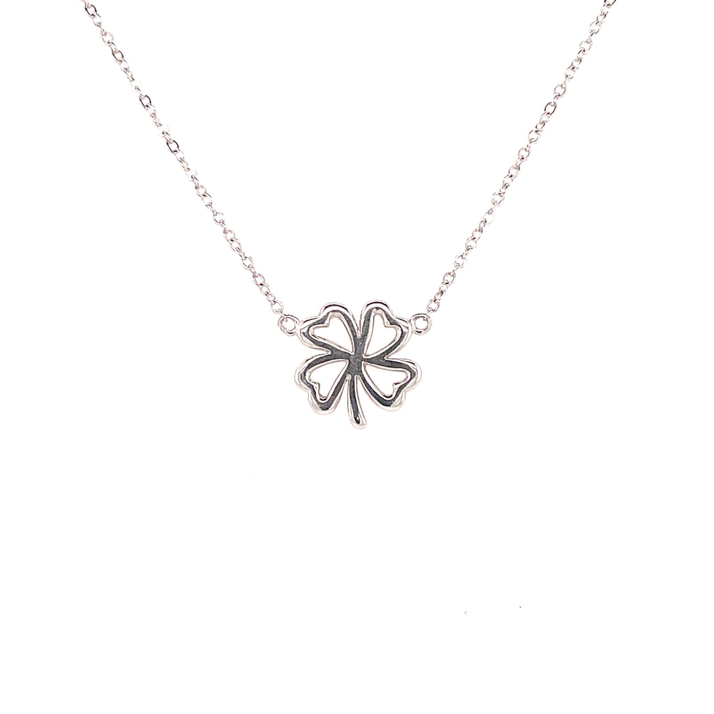 Lucky clover equestrian necklace