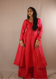Anarkali Suit with Plazzo