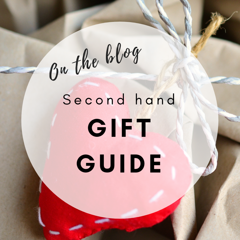 Second Hand Christmas Gift Guide