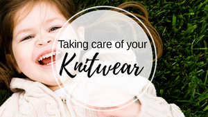 Taking care of your knitwear