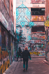 hosier lane melbourne graffiti
