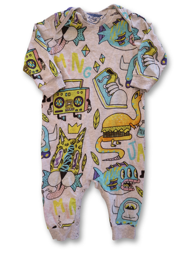 Paperwings Jumpsuit size 0 - Use-Ta! Preloved Children's Wear Online