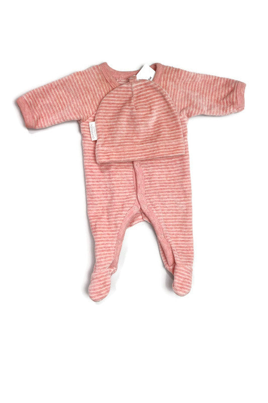 Purebaby Jumpsuit and Hat Size 00000
