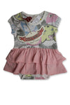 Paperwings Playsuit size 000 (0-3M)