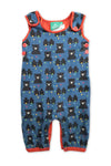 Little Green Radicals Overalls size 00 (3-6M)