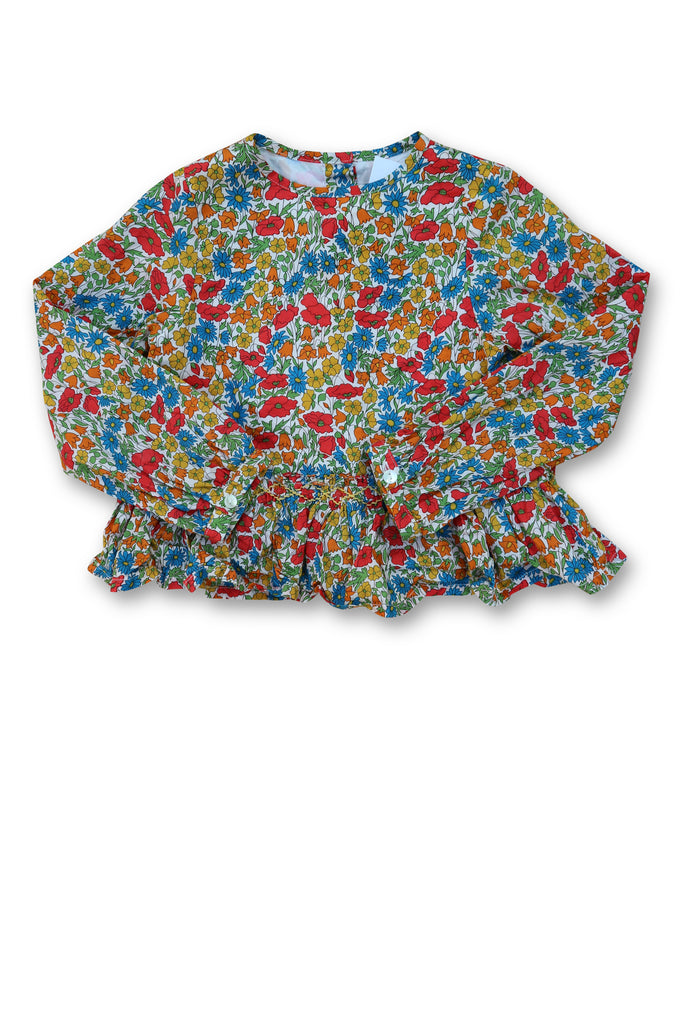 Pretty Wild Blouse size 2-3 - Use-Ta! Preloved Children's Wear Online